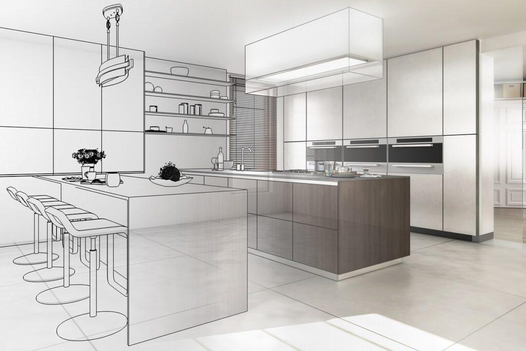 projekt kuchni na wymiar